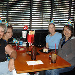 Judy, Alysia and Mindy surprised me at Pei Wei for my 60th birthday.  Boy do I look OLD! Photo taken October 27, 2011